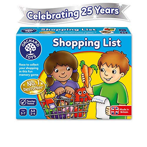 Orchard Toys 003 Shopping List Game, Multicoloured