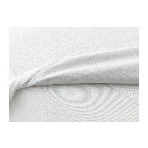 IKEA GÖKÄRT Matratzenschutz in weiß; (140x200cm)