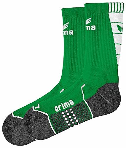 erima Herren Trainingssocken, smaragd/weiß, 4, 318617