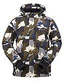 Men's Performance Insulated Ski Jacket with Zip-Off Hood