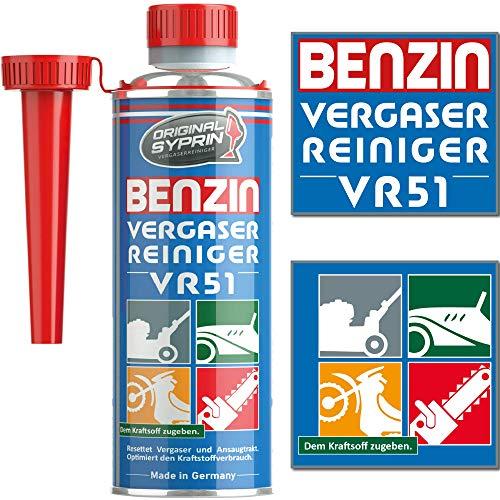SYPRIN Original Carburetor Cleaner VR51 pour les moteurs à essence 2 temps - adapté à la voiture...