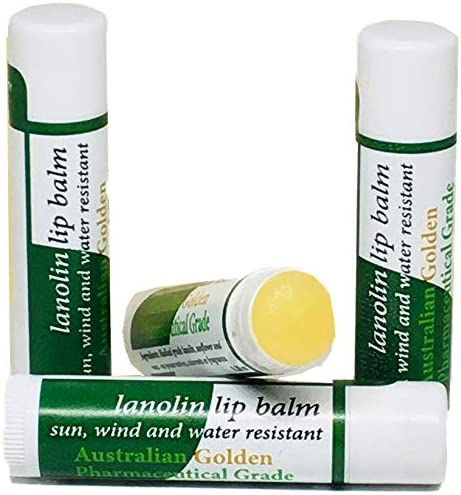 Medical Grade Lanolin Skin and Lip Balm Green Label (Pack of 4)