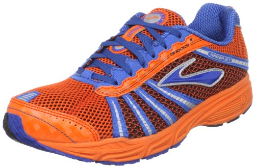 Brooks 1000111D71 - Zapatillas de running unisex, Racer ST 5 blau/orange, 7.5