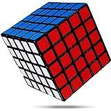 FAVNIC 魔方 立体パズル【6面完成攻略書付き】競技用 ポップ防止 知育玩具 (滑り止め 5x5 【マット感】)