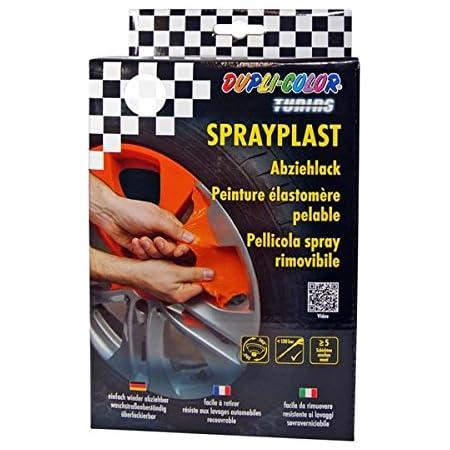 Dupli Color 388156 Set Sprayplast Abziehlack Orange Glänzend Anzahl 2 Auto