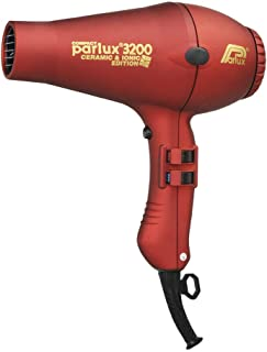 Parlux 3200 Ceramic & Ionic Dryer 1900W, Red