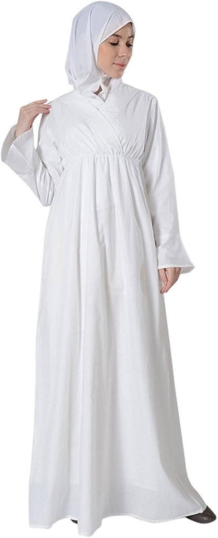 EastEssence White Cotton Hajj Umrah Abaya