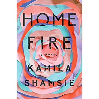 Home Fire audiobook cover art