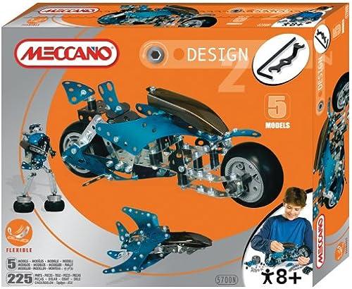 Meccano 51845700 - Design 2 (5 Modelle)