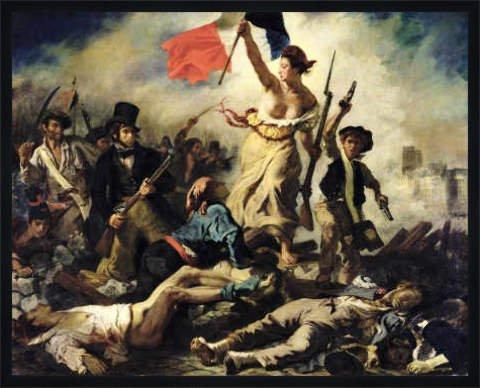 Bild mit Rahmen: Eugène Delacroix,