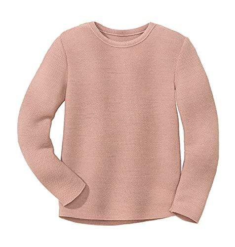 Disana Linksstrick-Pullover Rosé Gr. 110/116