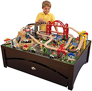 imaginarium train table with drawers