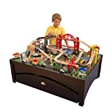 8. KidKraft Metropolis Train Table & Set