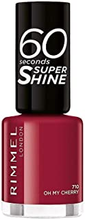 Rimmel London 60 Seconds Super Shine 710-Oh My Cherry - 1 Unidad