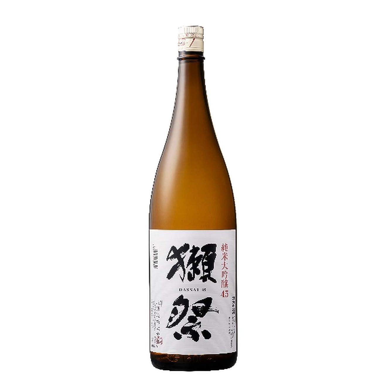 予想外穀物分配します獺祭 だっさい 純米大吟醸 45 1800ml 4本 山口県 旭酒造 日本酒