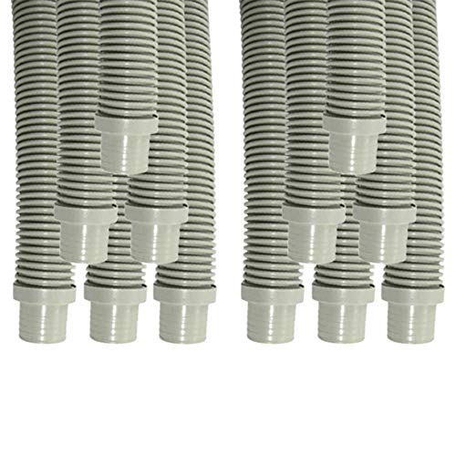 Purchase Puri Tech Universal Swimming Pool Cleaner Durable Hose 48 Long Grey Color 12 Pack Universal...