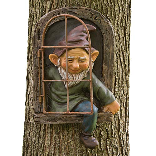 Bits and Pieces – Elf Out The Door Tree Hugger – Garden...