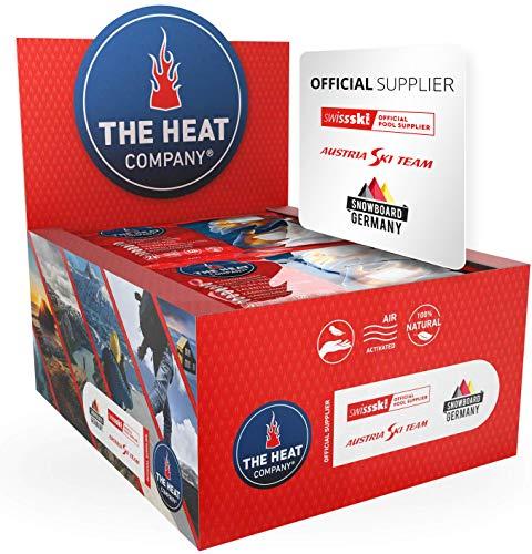 THE HEAT COMPANY Handwärmer - 40 Paar - EXTRA WARM - Taschenwärmer - 12 Stunden warme Hände - sofort einsatzbereit - luftaktiviert - rein natürlich