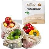 ECENCE Set de 3 bolsas para fruta y verdura bolsas...
