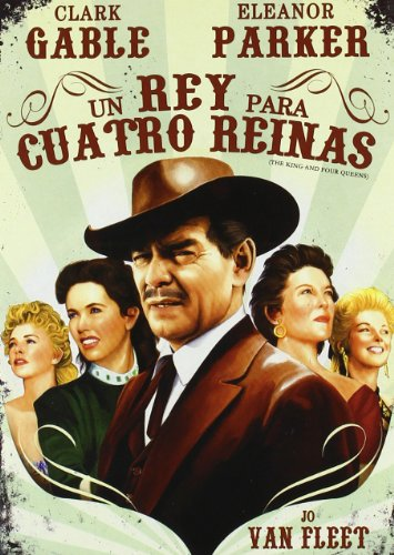 The King and Four Queens (1956) ( The King & 4 Queens ) [ NON-USA FORMAT, PAL, Reg.0 Import - Spain ]