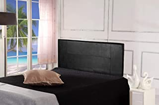PU Leather Queen Bed Headboard Bedhead Black