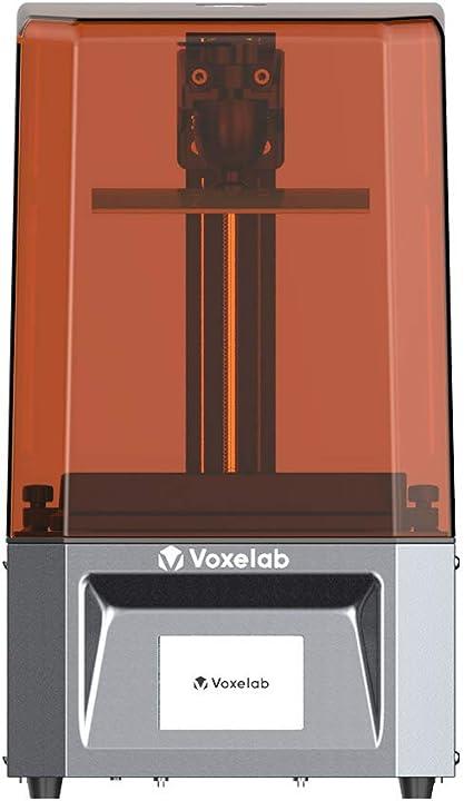 Stampante 3d assemblata con schermo 2k monocromatico full grayscale voxelab  proxima 6.0 uv photocuring resina LCD