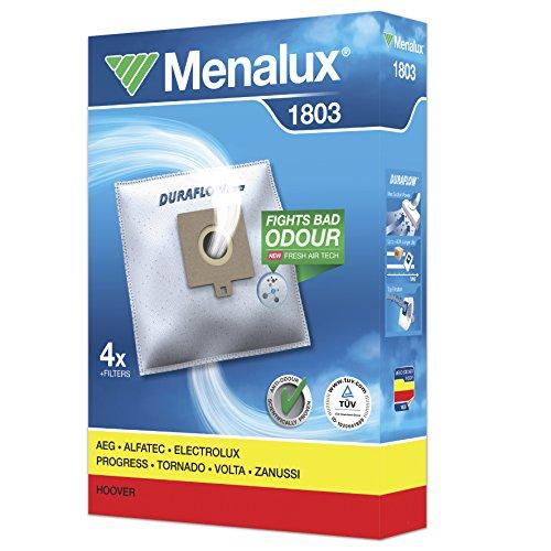 Menalux 1803/4 Staubbeutel / 1 Microfilter/Duraflow/AEG/Electrolux/Progress/Volta/Hoover