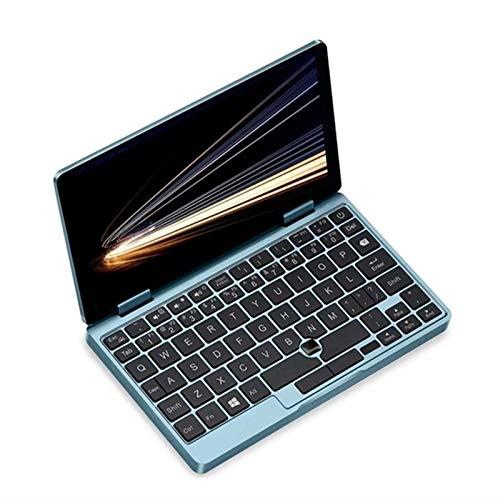 Una netbook One MIX 1S + Laptop PD PD FAST CARGA VERSIÓN INGLÉS INTEL CORE M3-8100Y 7 pulgadas 1920 x 1200 Multi-touch IPS Pantalla de IPS Windows 10 8GB RAM 256GB SSD Reconocimiento de huellas dactil