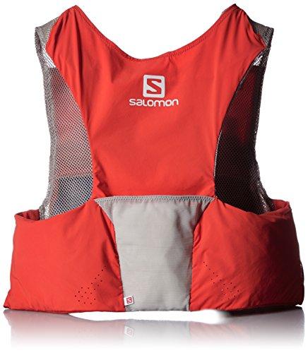 SALOMON S Lab Sense Ultra Set Mochila, Unisex Adulto, Rojo (Racing Red/Aluminium), XL