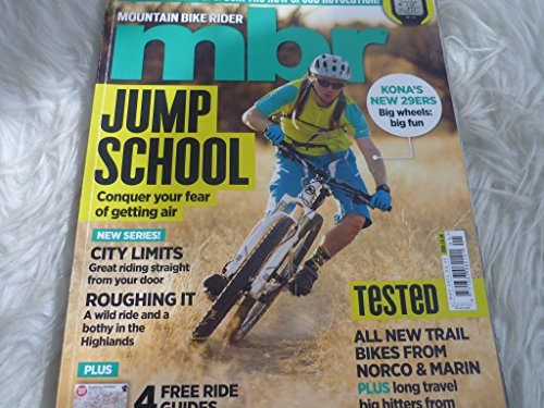 MBR Mountain bike rider magazine may 2012