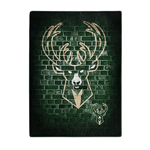 Northwest Milwaukee Bucks Blanket 60x80 Raschel Street Design