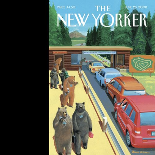The New Yorker, June 23, 2008 (Peter J. Boyer, John Seabrook, George Saunders) audiobook cover art