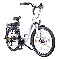 NCM Munich 26» E-Bike City Roue, 250W, 36V 13Ah 468Wh blanc