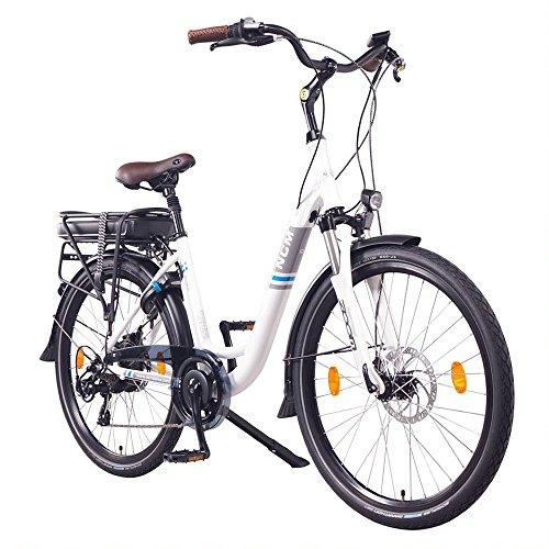 "NCM Munich 26\"" E-Bike City Rad, 250W, 36V 13Ah 468Wh weiß"