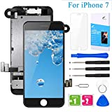 "Pre-Assembled Screen Replacement for iPhone 7 Black 4.7"", LCD Display Touch..."