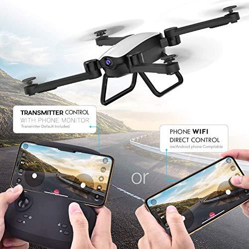 SIMREX X900 RC 1080P HD Camera Drone, White