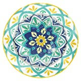 Tognana Olimpia Alhambra–Juego de 6Platos de Postre (Multicolor de Porcelana