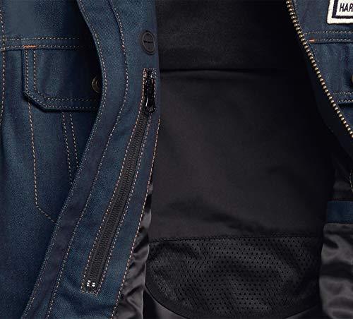 Harley Davidson Funktionsjacke Arterial - Denim Leather, XL