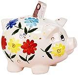Sunny toys 11952 Sparschwein, Porzellan, Mehrfarbig, Einheitsgröße