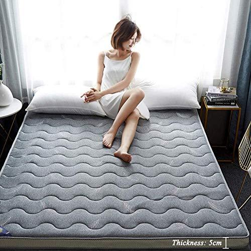 YWYW Alfombrilla de Tatami para Dormir colchón Plegable colchón de futón Transpirable...