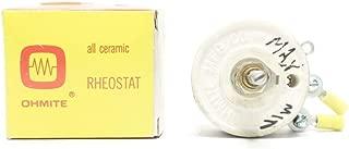 OHMITE 138A1065P25SD Model J Rheostat 50W 10K-OHM Potentiometer R688773