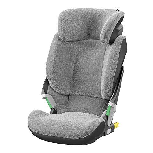 Maxi-Cosi 8479790110  Sommerbezug Passend für Kore I-Size Kindersitz, Schonbezug Autositz, Bezug für Die warmen Sommertage, Fresh grey, grau