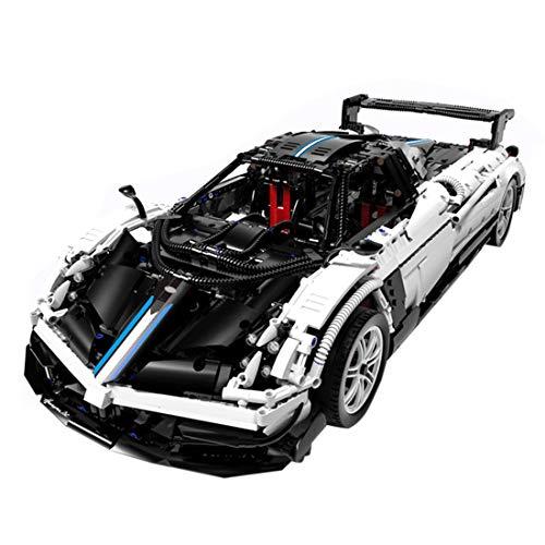 DSXX Technik Pagani Zonda Sportwagen Bausteine Auto Modell, 1:14, 3000 Teile Konstruktionsspielzeug Kompatibel mit...