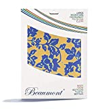 Beaumont Wild Roses polissage et nettoyage pour instruments de musique (trompette, clarinette, saxo, flûte) chiffon de nettoyage en microfibre recyclée pour laiton & argent 40 x 30 cm