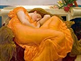 Posterazzi Flaming June Poster Print by Frederic Leighton, (22 x 28)