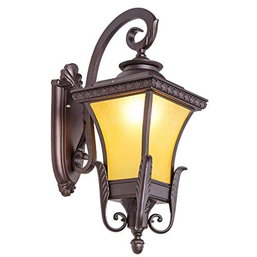 Retro Wandleuchte Europäische Wandleuchte Outdoor Villa Garten Licht Wasserdichte Gang Terrasse Lampe Korridor Licht Phoenix Lampe / Kaffee Gold