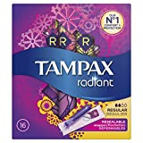 Tampax Radiant Régulier Tampons avec Applicateur 16 - Lot de 3