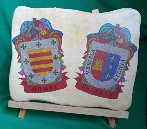 Escudo heraldico doble
