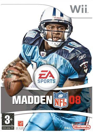 Jogo Madden NFL 08 Wii