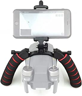 Flycoo2 3D Print Dual Handheld Grip Gimbal Tray Stabilizer Bracket Kit for DJI Mavic Pro RC Drone Quadcopter Phone Holder Expansion Accessory Parts